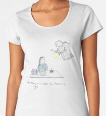 Earthly Knowledge and Heavenly Light Women's Premium T-Shirt