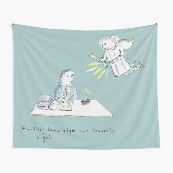 Earthly Knowledge and Heavenly Light Tapestry