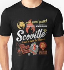 Scoville is not a French town. Unisex T-Shirt