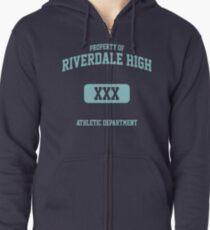 Riverdale Merch ® Riverdale High Archie KJ Apa Zipped Hoodie