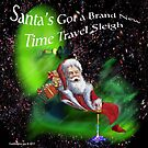 Santa's Got a Brand New Time Travel Sleigh by EyeMagined