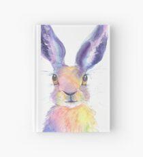 Rainbow Hare Hardcover Journal