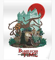 Blood Echo Time Poster