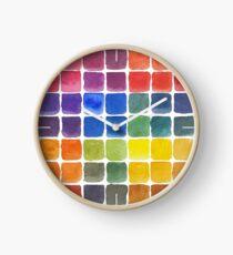 Mix it Up! - Watercolor Mixing Chart Clock
