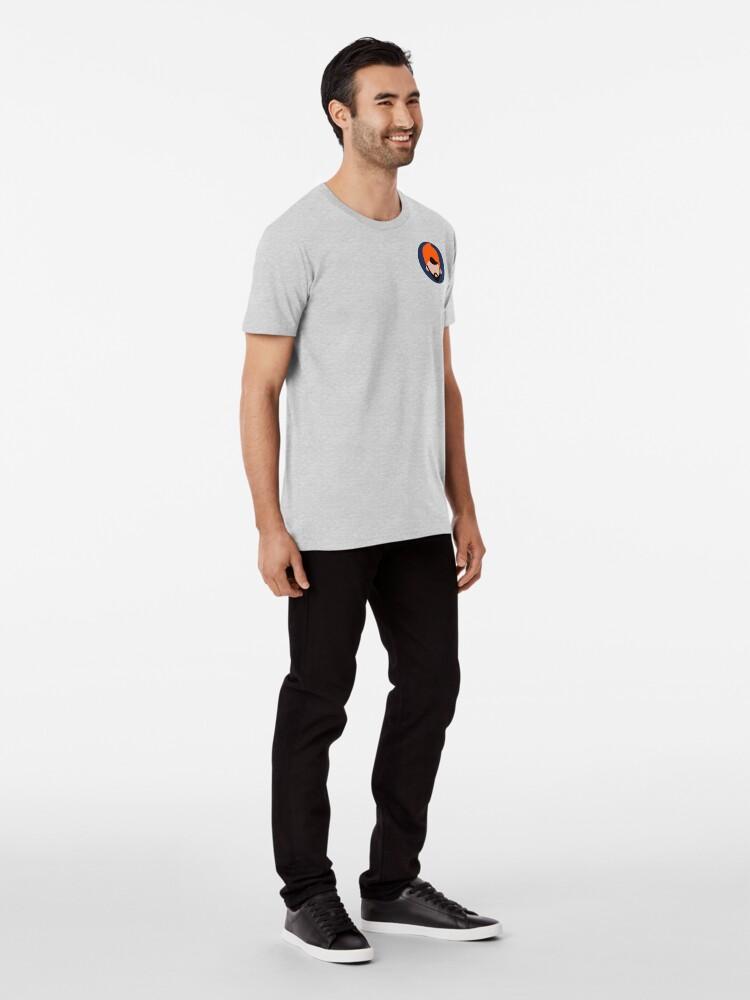 Vista alternativa de Camiseta premium Artful Dodge Face