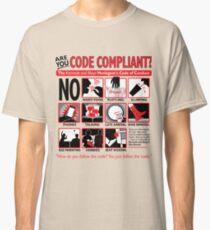 Kermode and Mayo's Code of Conduct (Light BG) Classic T-Shirt
