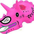 «Triceratops skull» de paleoarteymas