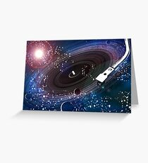 Vinyl Universe Greeting Card