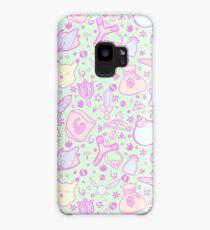 Zelda Doodlez (Green Pastel ver.) Case/Skin for Samsung Galaxy