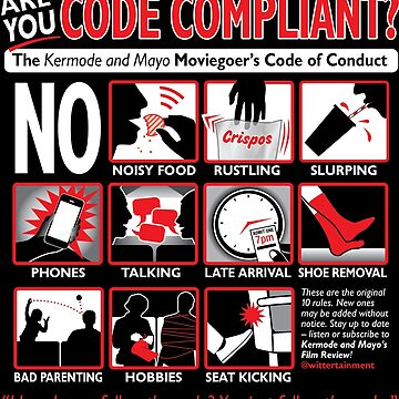 Kermode and Mayo Code of Conduct by adamabrams