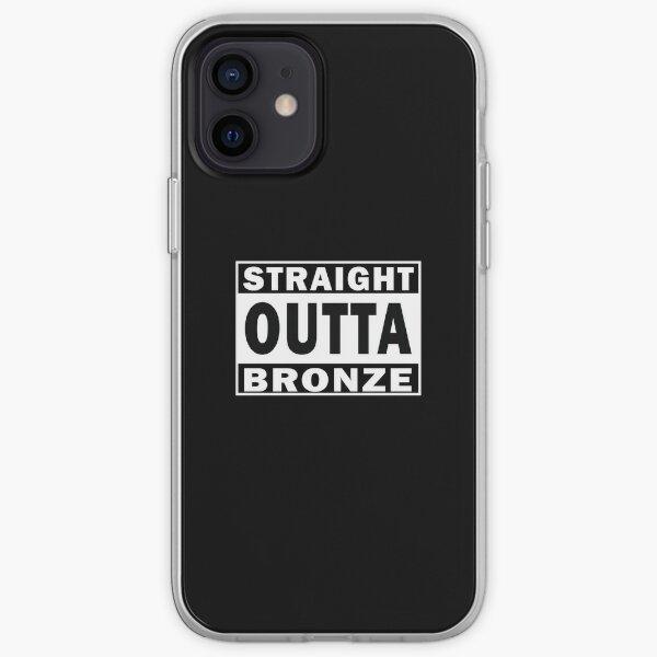 Straight Outta Bronze Funda blanda para iPhone