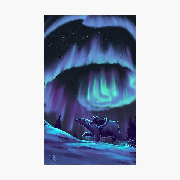 His Dark Materials - Fan Art Photographic Print
