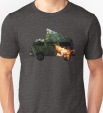 double exposure campfire bus T-Shirt