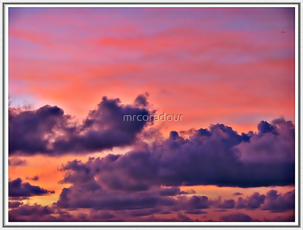 """"""" Sunset over Portreath"""" by Malcolm Chant"""