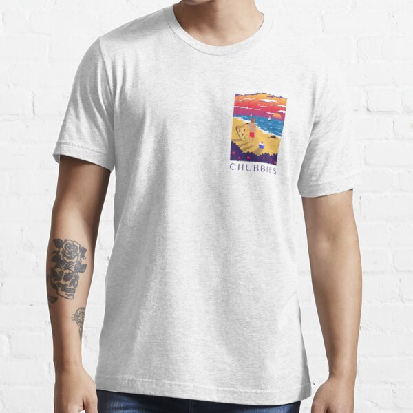 Chubbies Shorts Cartoon T-shirt essentiel
