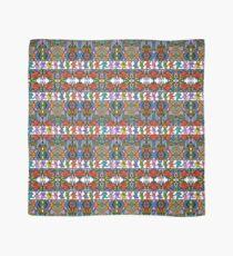 Grateful Dead Bears Trippy Pattern Vintage Colors  Scarf