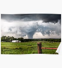 Siren - Large Tornado in the Texas Panhandle Poster