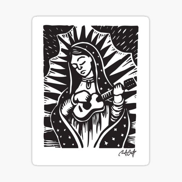 Virgen Jaranera Sticker