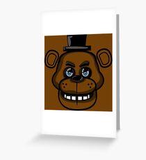 Multicolor Freddy Greeting Card