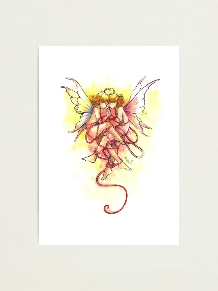 Alternate view of The United Fairies Photographic Print