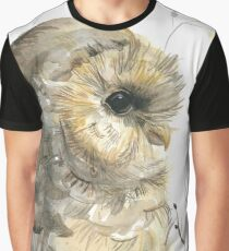 Watercolor owl Graphic T-Shirt