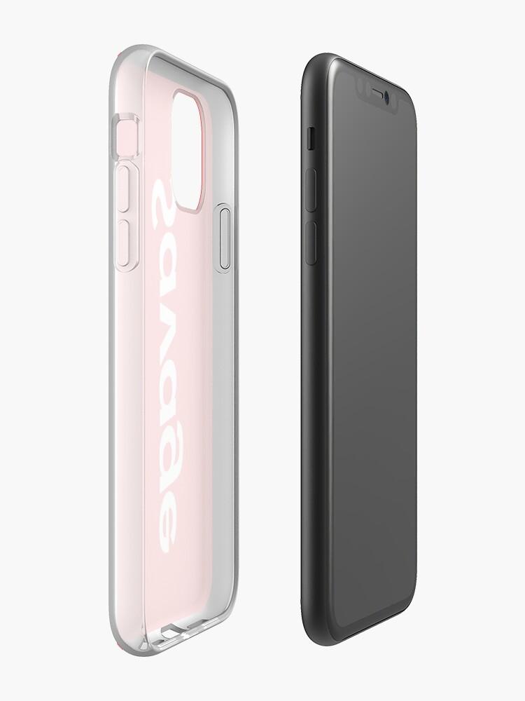 coque incassable iphone 7 plus - Coque iPhone «Savage Supreme Parodie», par 4DaMoolah