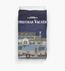 Christmas Vacation House and RV Duvet Cover