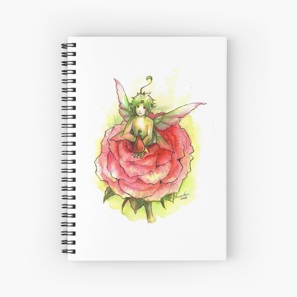 The Found Fairy Spiral Notebook