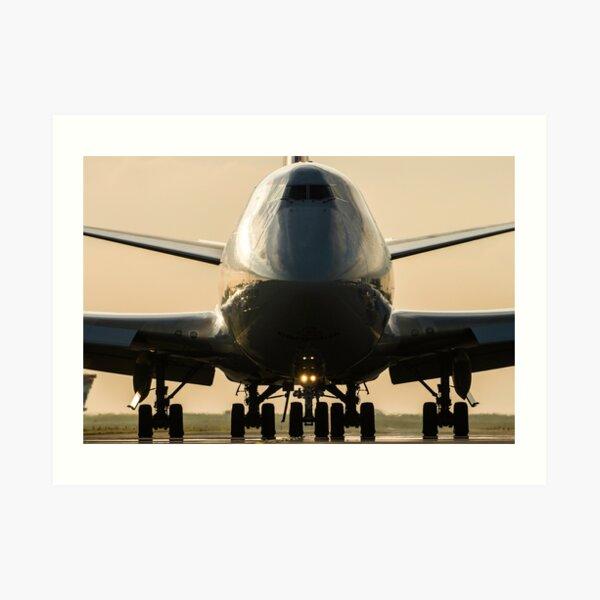 Boeing 747 Cargolux Art Print