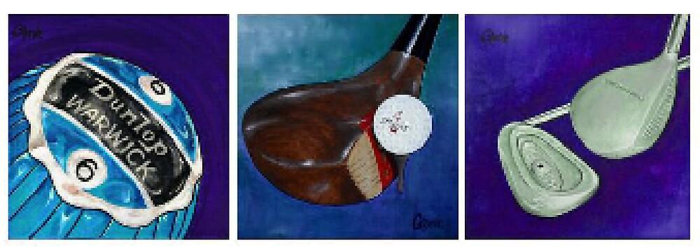 Blue Golf Evolution by greve