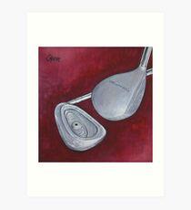 90u0027s Golf Art Print