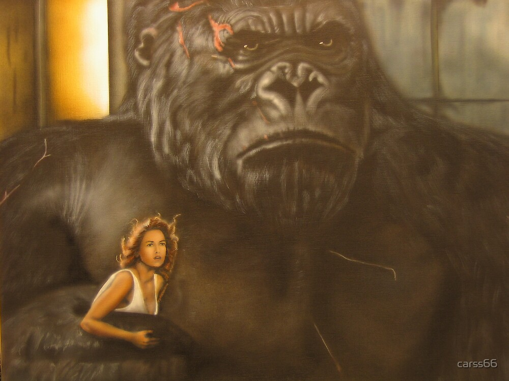 grumpy king kong by carss66