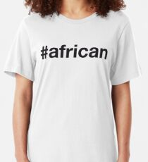 AFRICAN Slim Fit T-Shirt