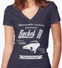 Rocket 88 Women's Fitted V-Neck T-Shirt