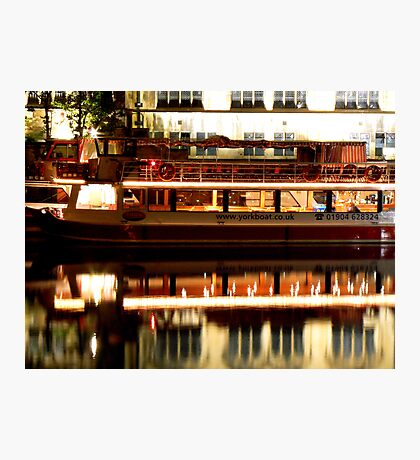 River Boat - River Ouse Photographic Print