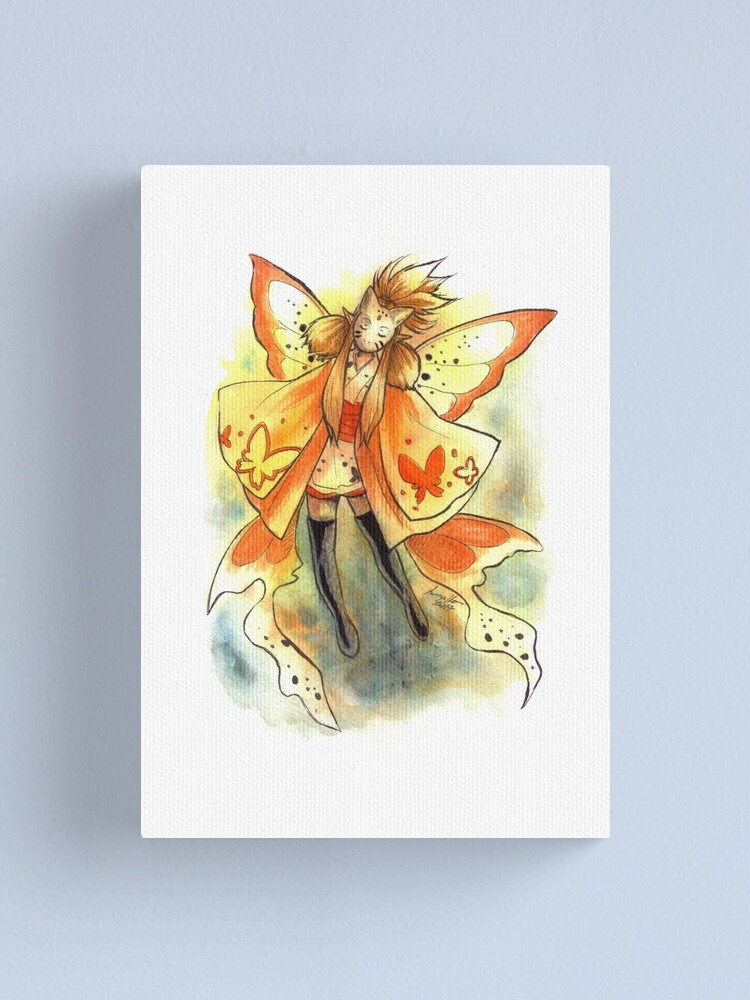 Alternate view of The Mask Fairy. Canvas Print