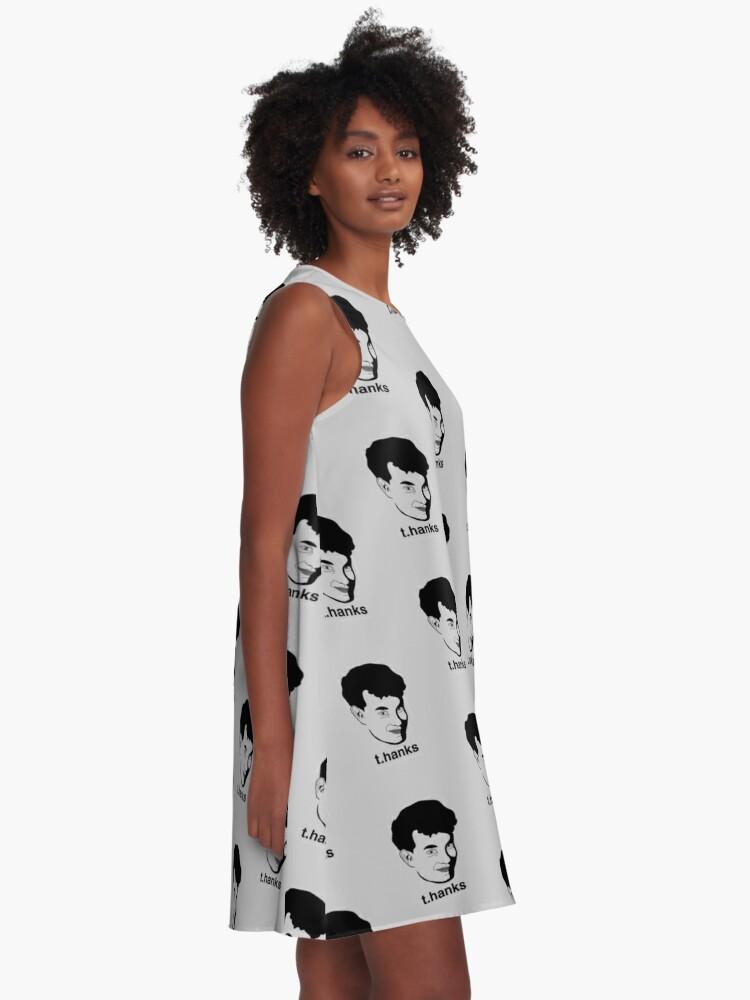 Alternative Ansicht von Vielen Dank A-Linien Kleid
