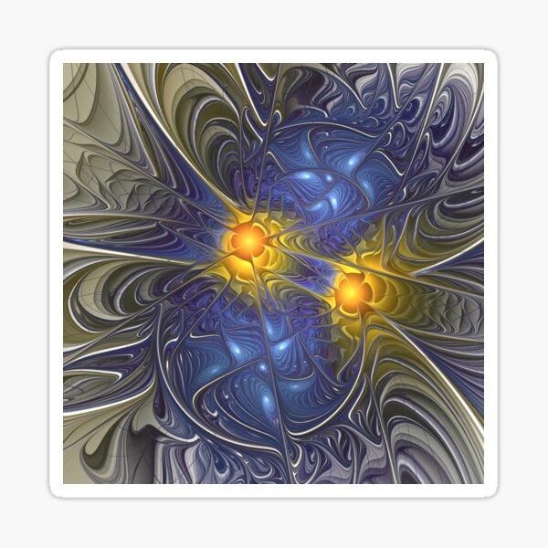 Twin Suns Sticker