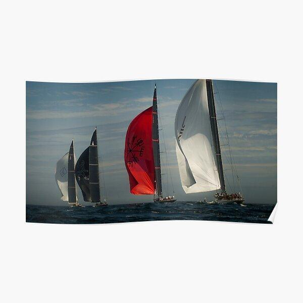 Sailing - J Class Boats  Poster