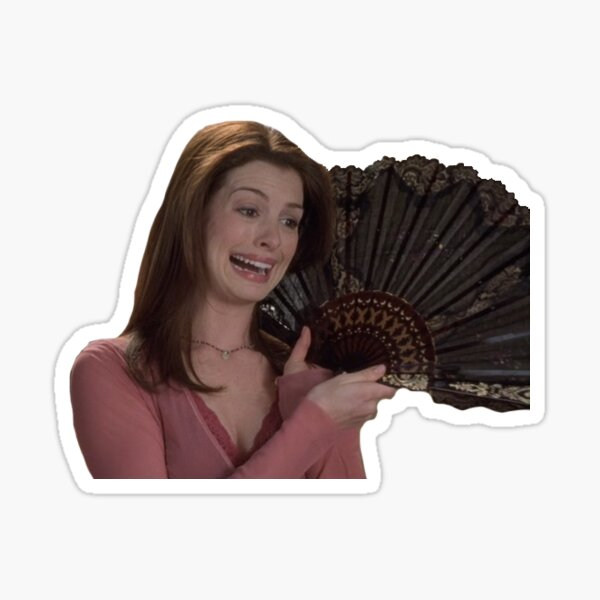 Princess Mia Thermopolis - Fan Mood Sticker