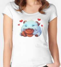 League of Legends Poro Women's Fitted Scoop T-Shirt