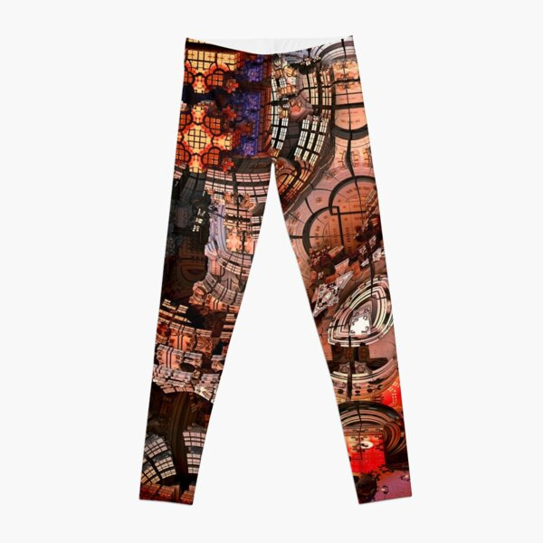 Fractal Art - 3D Mandelbulb Leggings