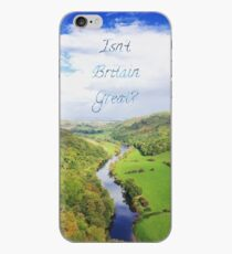 Isn't Britain Great? River Wye iPhone Case