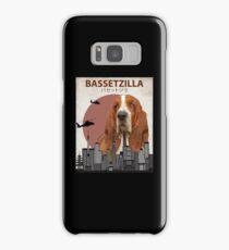 Bassetzilla – Basset Hound Giant Dog Monster Samsung Galaxy Case/Skin