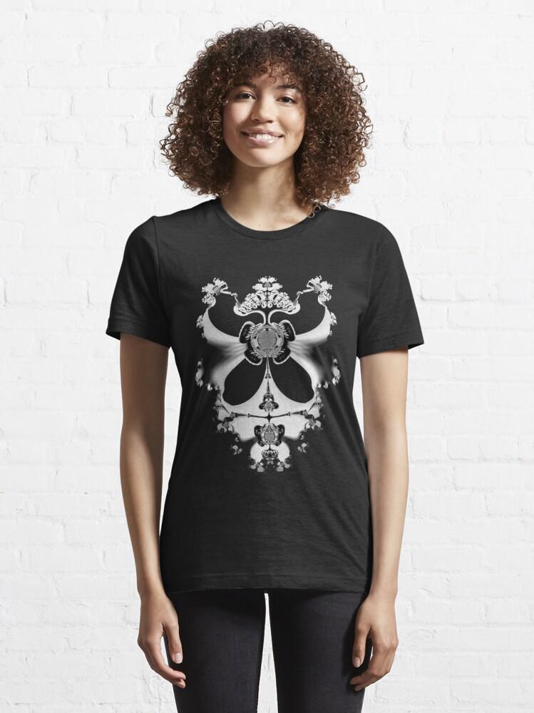 Alternate view of Fractal Skeleton No.2 Essential T-Shirt