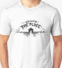 The Talking Heads This Must Be the Place Lyrics Hand Drawn - Gift for Music Lover - Housewarming Gift T-Shirt