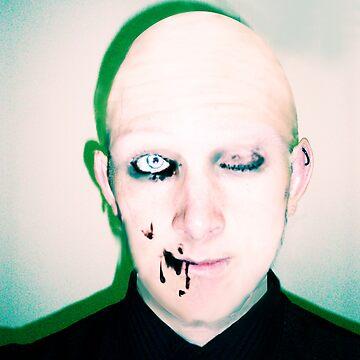 self portrait-inner dark by postMODERN