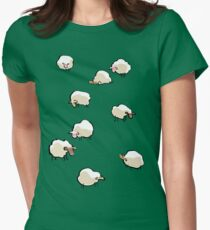 sheep Women's Fitted T-Shirt