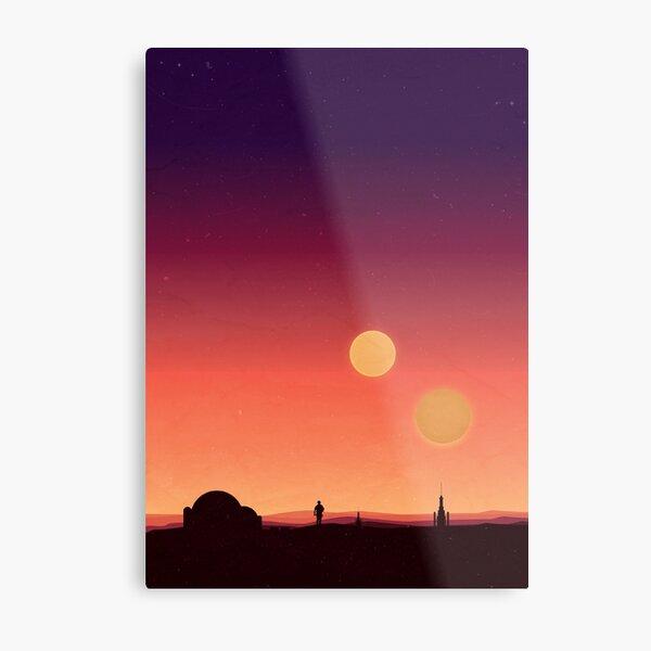 Tatooine Metal Print