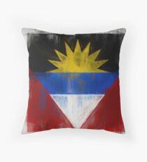 Antigua And Barbuda Flag Reworked No. 2, Series 2.jpg Kissen